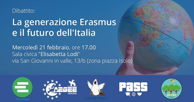 A 80 anni in Erasmus: da Valencia a Verona per studiare storia