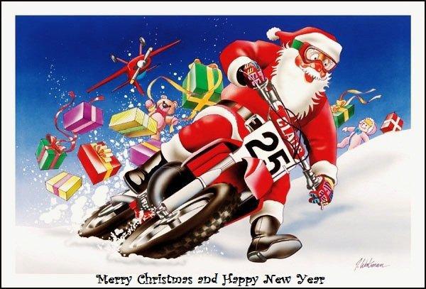 Immagini Babbo Natale In Moto.Il Babbo Natale In Moto Sara Il 20 Dicembre Veronaeconomia It
