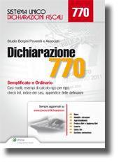 Dichiarazione 770 2013 semplificato e ordinario casi for Dichiarazione 770