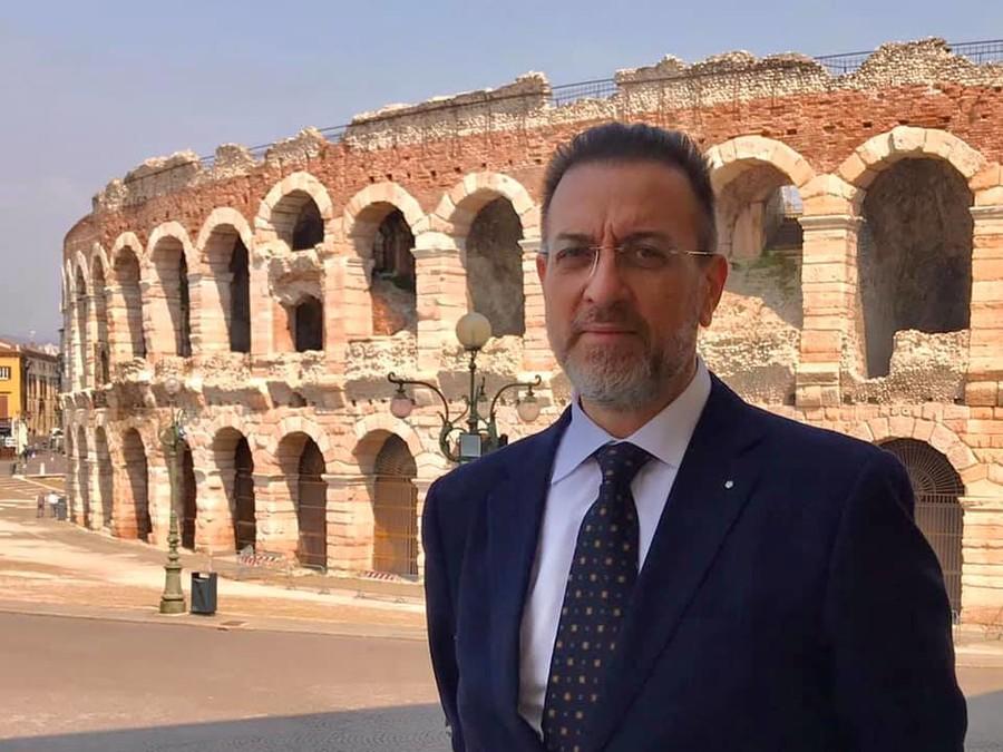 Il presidente di AMT Alessandro Rupiani.