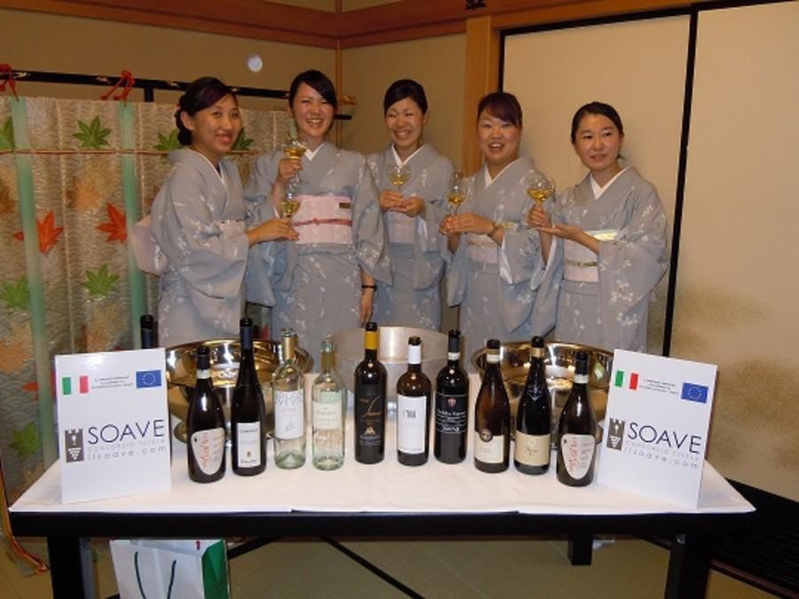 Il Giappone chiama e il Soave risponde.