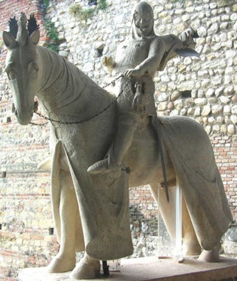 Cangrande I Della Scala, signore di Verona (1291-1329) e la sua morte.