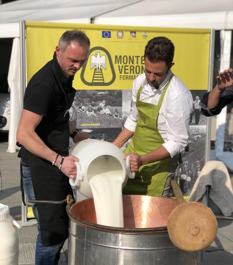 Il latte del Monte Veronese DOP