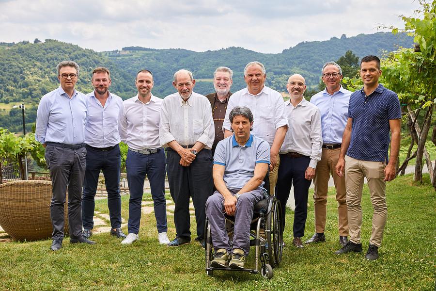 I presidenti dei gestori soci di Viveracqua