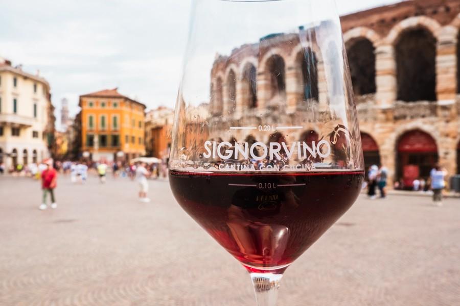 Signorvino: l'enoteca smart nel cuore di Verona