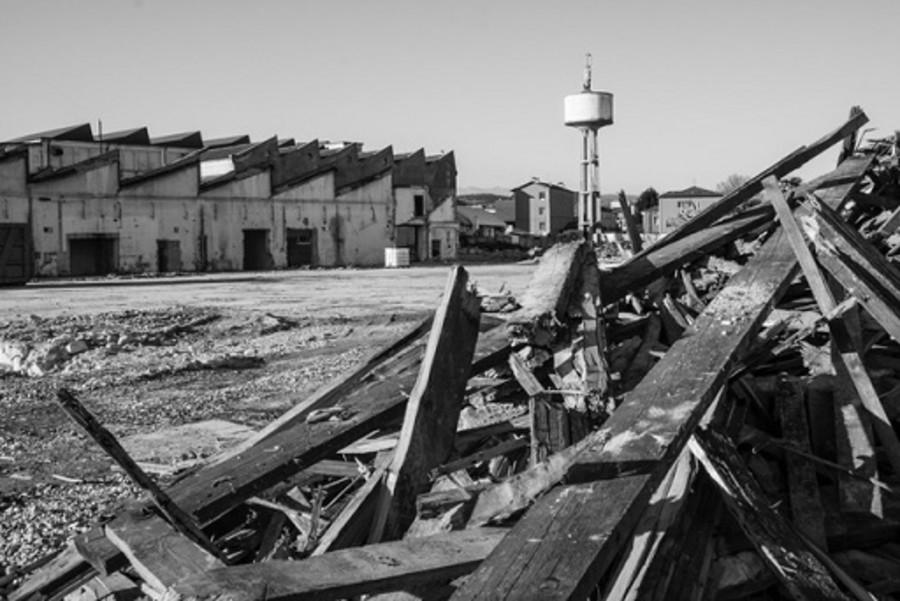 L'ex Lanificio Tiberghien,Verona.                                                                                                                                      Mostra fotografica e documentaria su un monumento industriale.