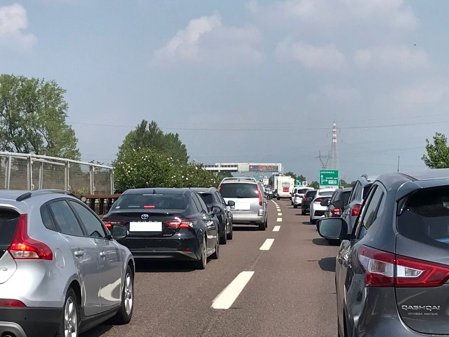 Il traffico in A22 al 31 luglio 2021.