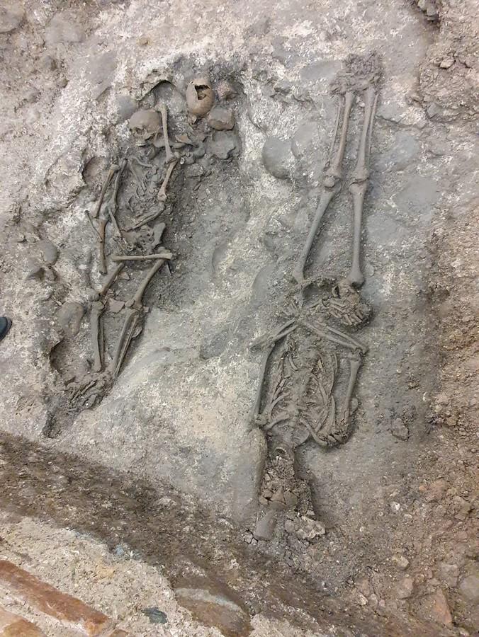 Ritrovata in Arena una tomba risalente al XII secolo