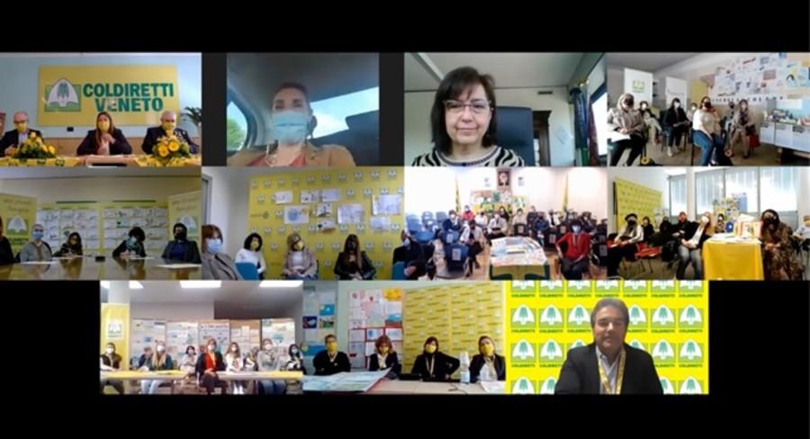 Forum Coldiretti, su 'spazi aperti' e formazione, nel verde della campagna, a supporto di famiglie e per lenire i disagi giovanili, post covid.