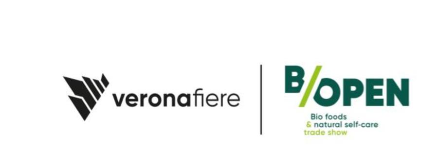 """""""B/Open"""", rassegna Bio foods & Natural self-care di Verona, 23-24 novembre 2020,  www.b-opentrade.com."""