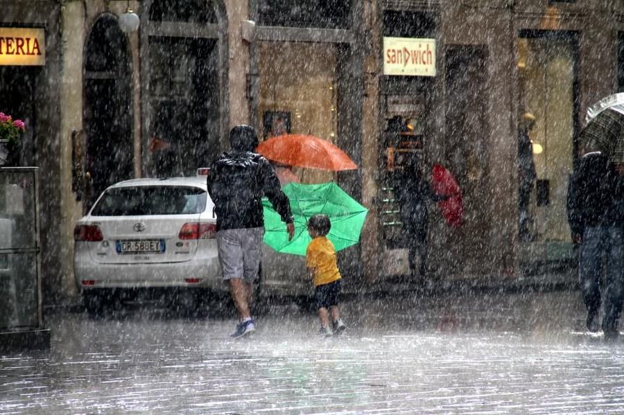 Cambiamento climatico: l'Italia tra caldo torrido e temporali