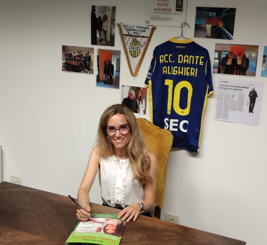 Valentina De Cata: «Non solo formazione, la scuola è vicinanza e sostegno»