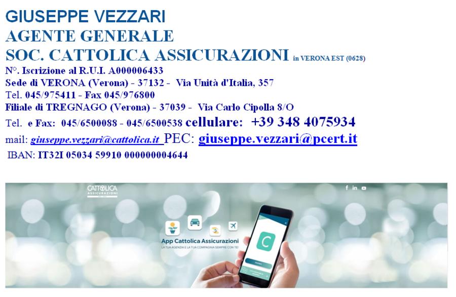 , Società Cattolica di Assicurazioni offre ai giovani attraverso il  progetto in oggetto, relativo al l'inserimento in agenzia di un produttore neofita inquadrato con partita IVA, entro il 31/12/2019.